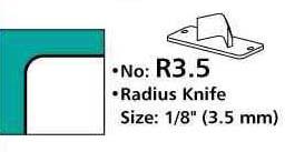 3,5mm Eckenrunder-Messer für M70 Eckenrunder / Stanze – Bild 1