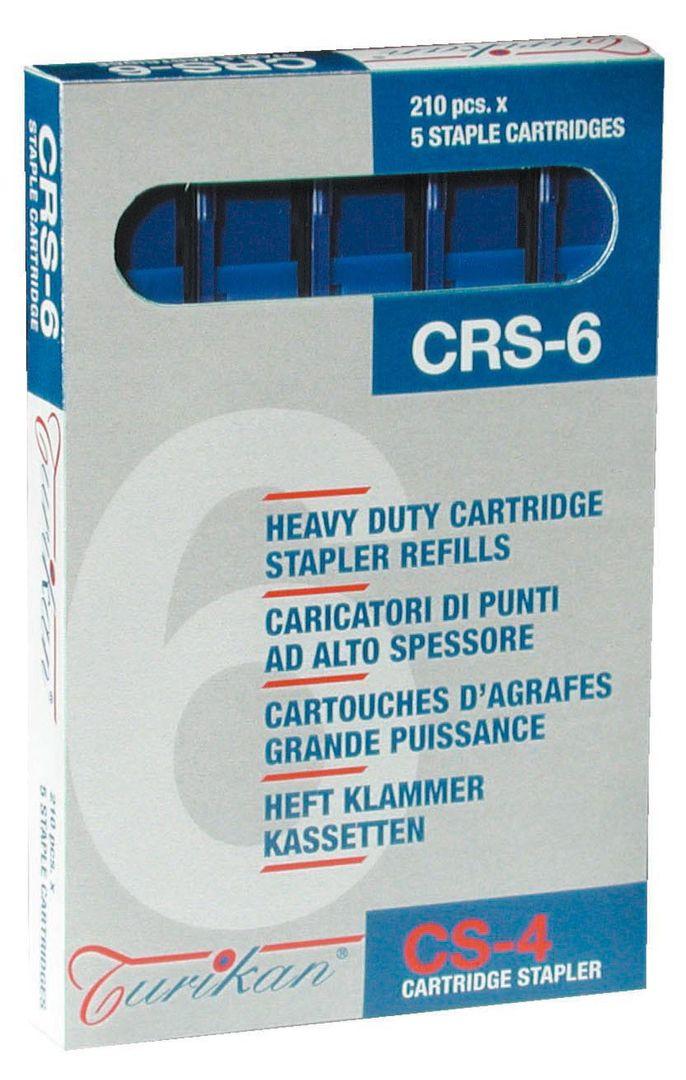 Turikan Ersatzmagazine CRS-6 blau (2-25 Blatt) für Turikan CS-4 – Bild 1
