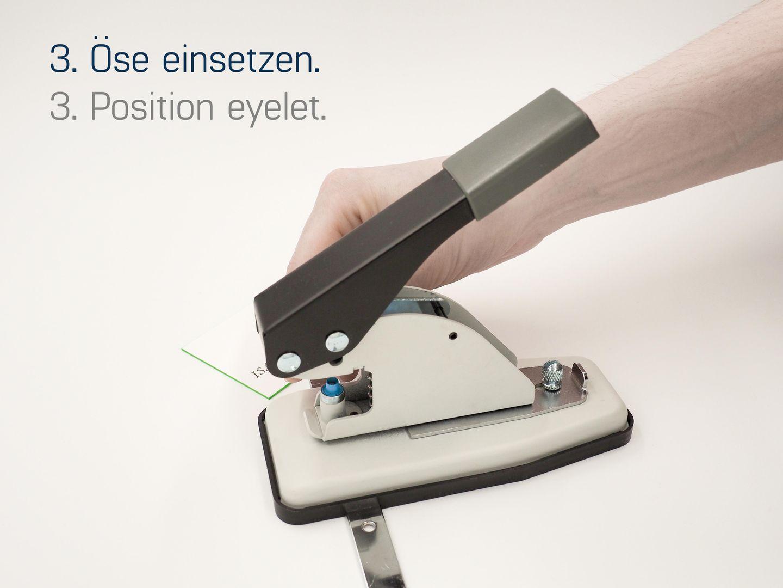 Eisenthaler EP-30/5mm Ösmaschine/Ösenpresse für Papierösen – Bild 4