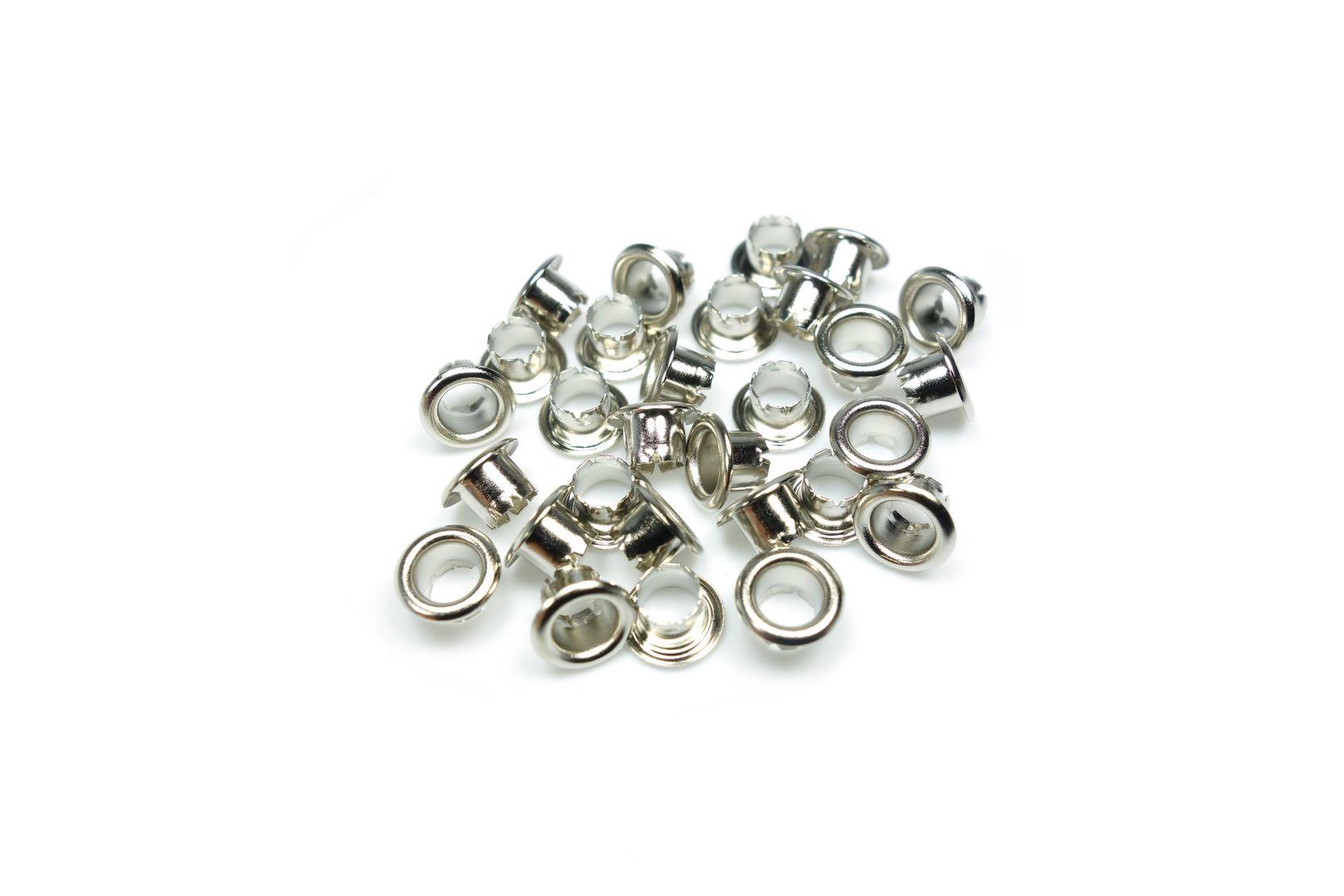 Eisenthaler 250 Ösen SET30-4.2mm, vernickelt für 10-20 Blatt – Bild 2