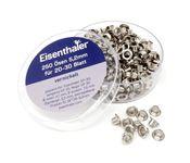 Eisenthaler 250 Ösen SET30-5,2 mm, vernickelt für 20-30 Blatt