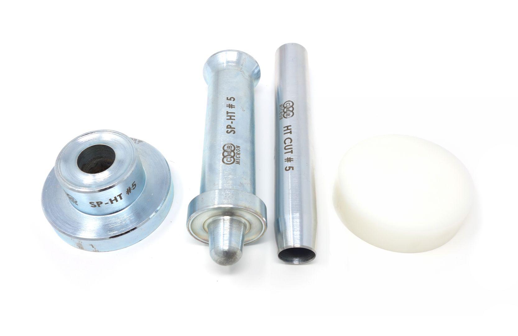 Hochwertige Einschlagwerkzeuge aus Edelstahl für Ösen von 8,0 - 50,0 mm – Bild 7