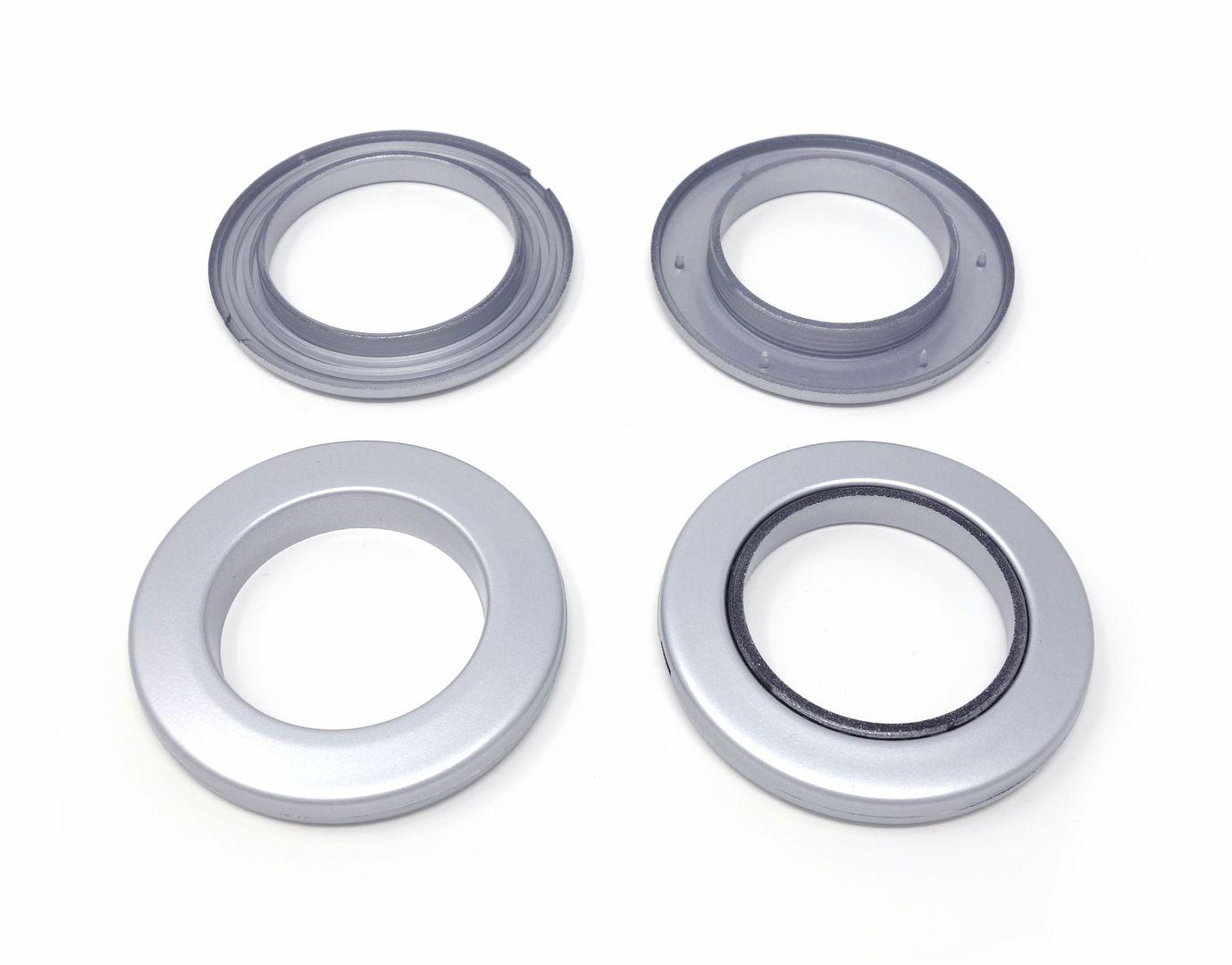Kunststoff-Ösen für Gardinen und Vorhänge  – Bild 2