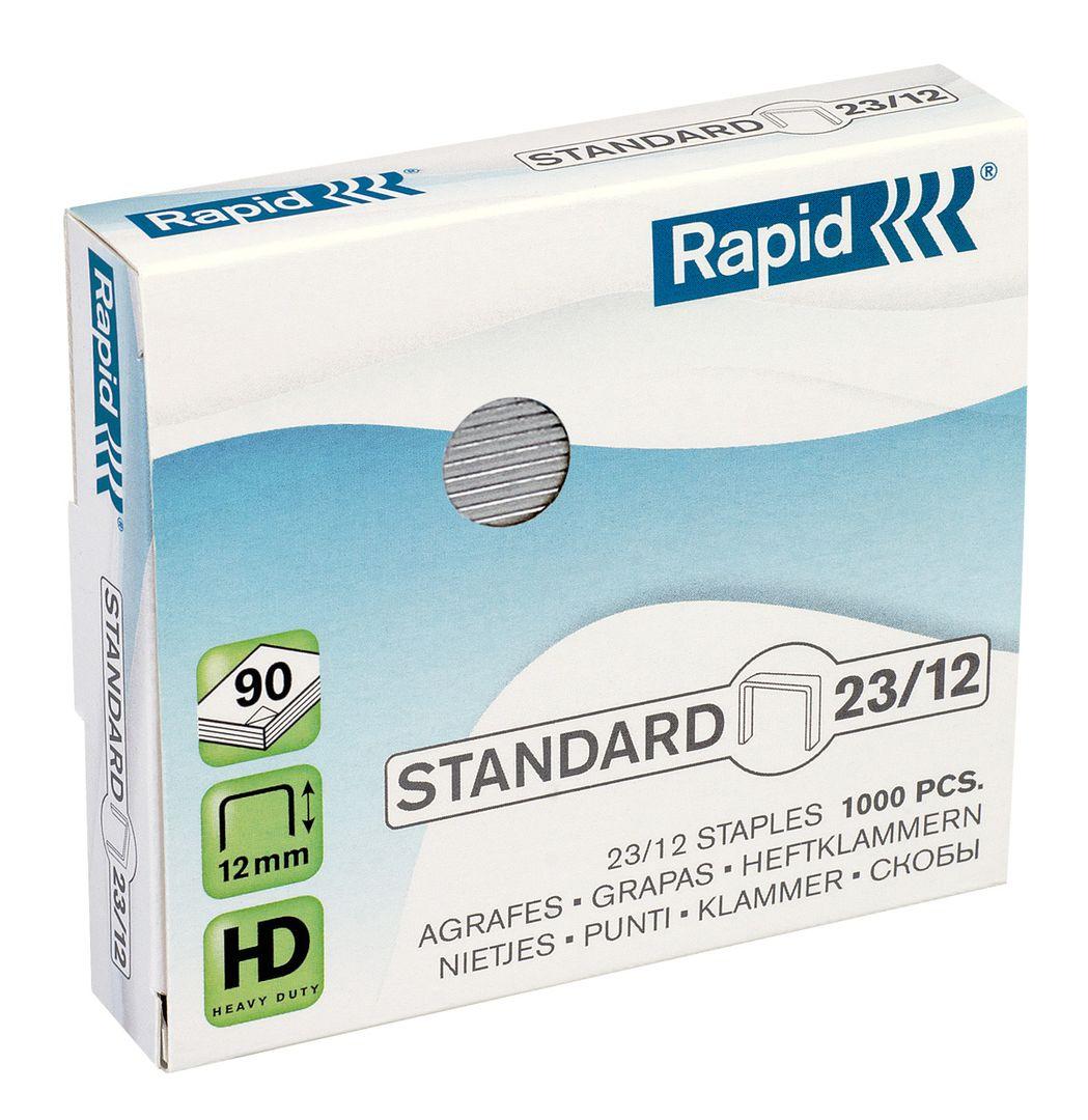Rapid Standard Heftklammern 23/12, 24869400, 1.000 Stück
