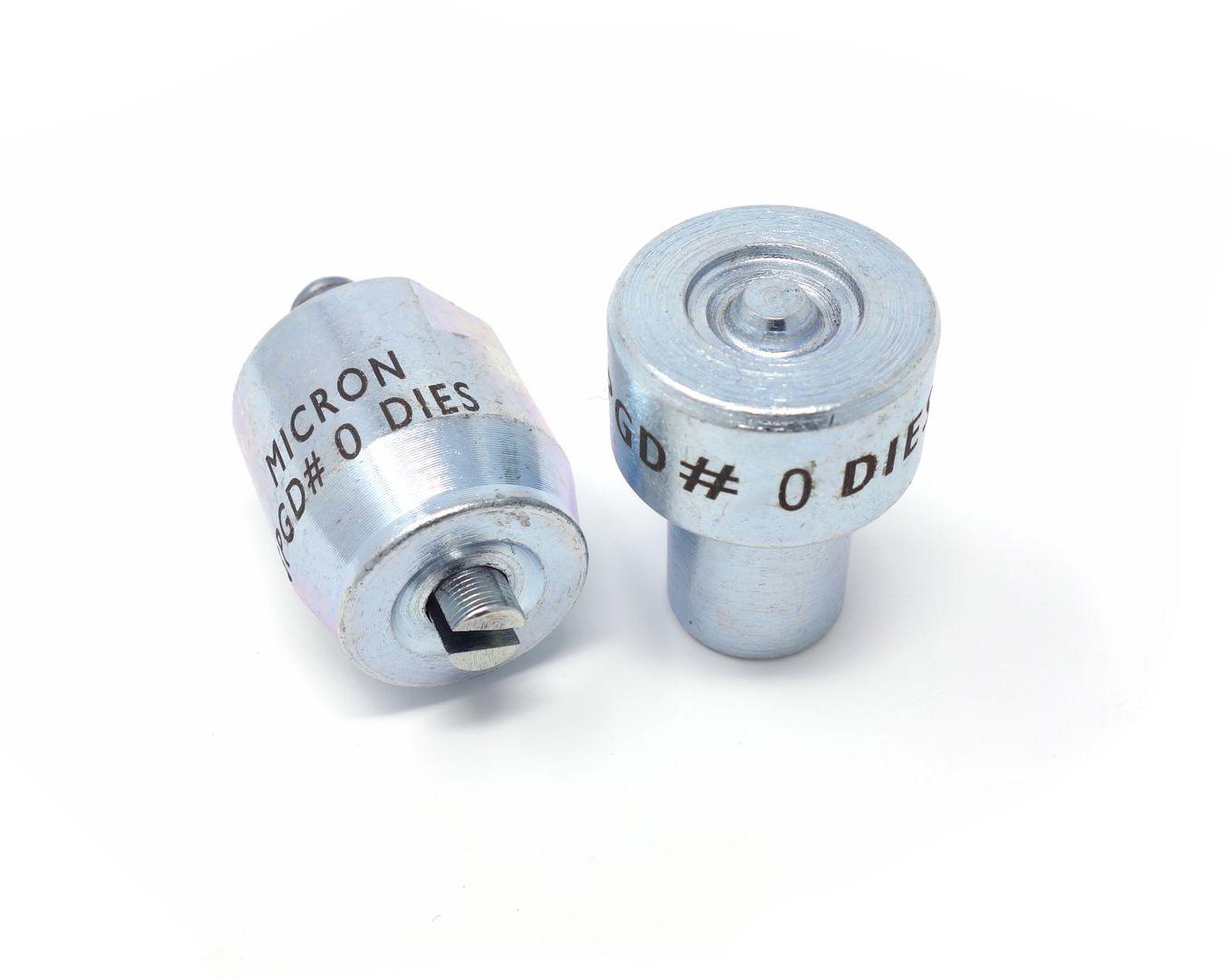 Werkzeug für Micron America M3 Ösenpresse zum Ösen – Bild 3