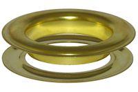 20,0 mm Ösen mit Scheibe (rostfrei) für Gardinen, Vorhänge, Leder, Planen, Banner, etc. 001