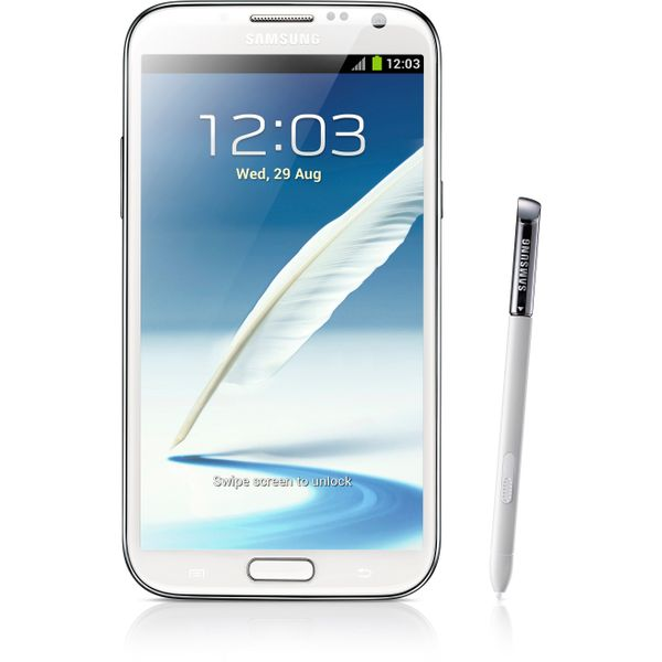 Samsung Galaxy Note 2 GT-N7100 - 16GB - Marble White – Bild 1