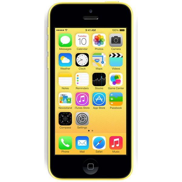 Apple iPhone 5C - 16GB - Yellow – Bild 1
