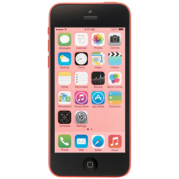 Apple iPhone 5C - 32GB - Pink – Bild 1