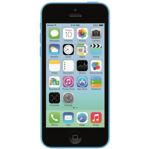 Apple iPhone 5C - 32GB - Blue – Bild 1