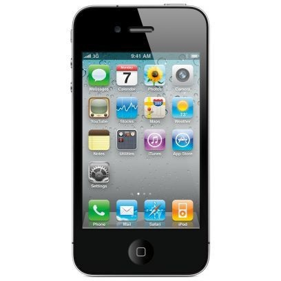 Apple iPhone 4S - 16GB - Black – Bild 1