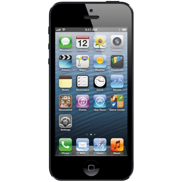 Apple iPhone 5 - 16GB - Black – Bild 1