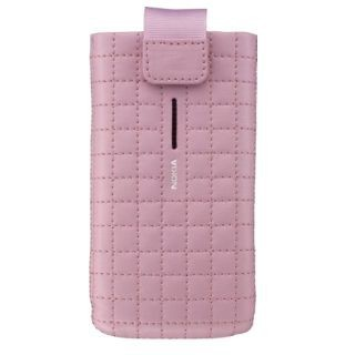 Nokia CP-505 - Leather Case / Pouch - pink