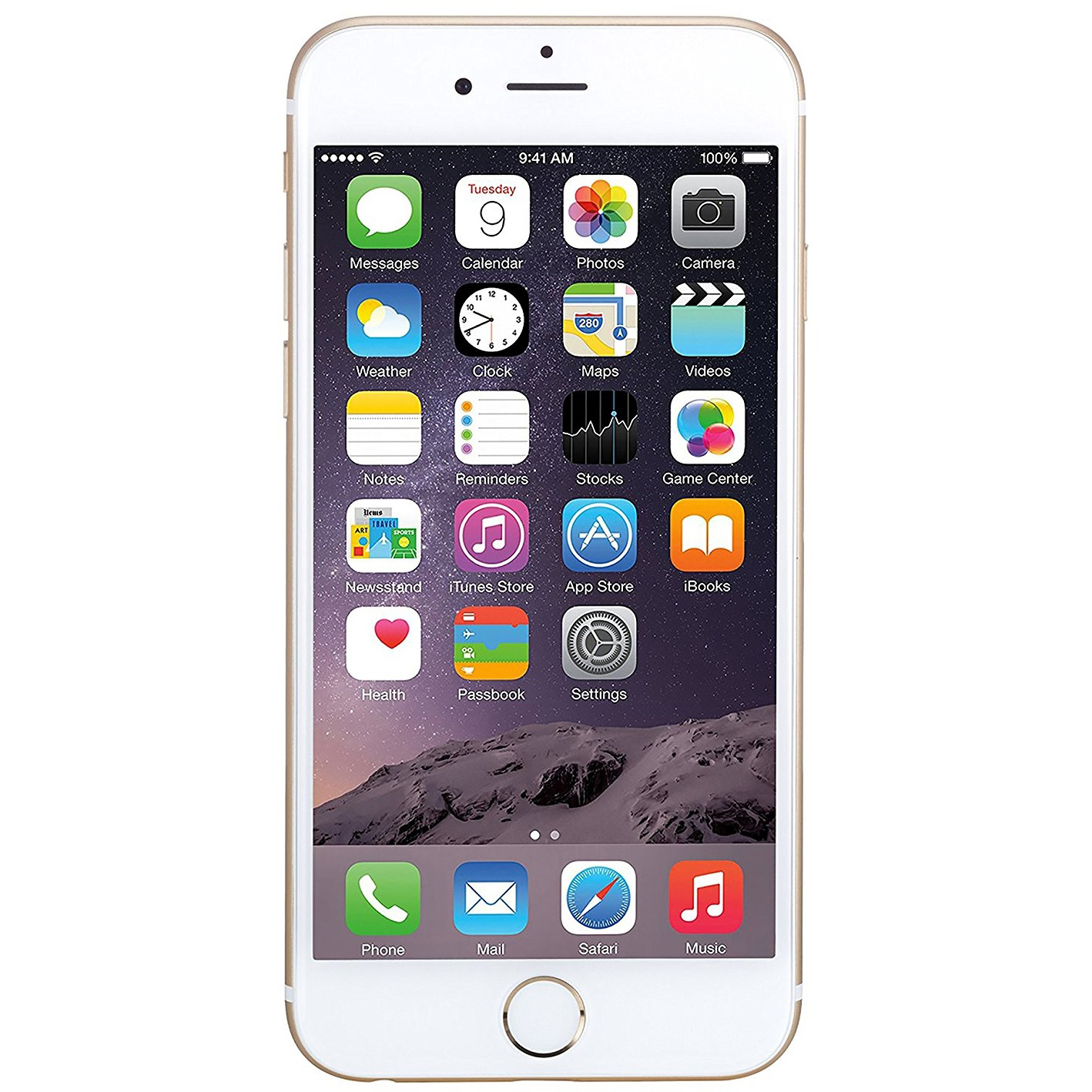 Apple Iphone 6 16gb Gold Handys Apple Iphone 6