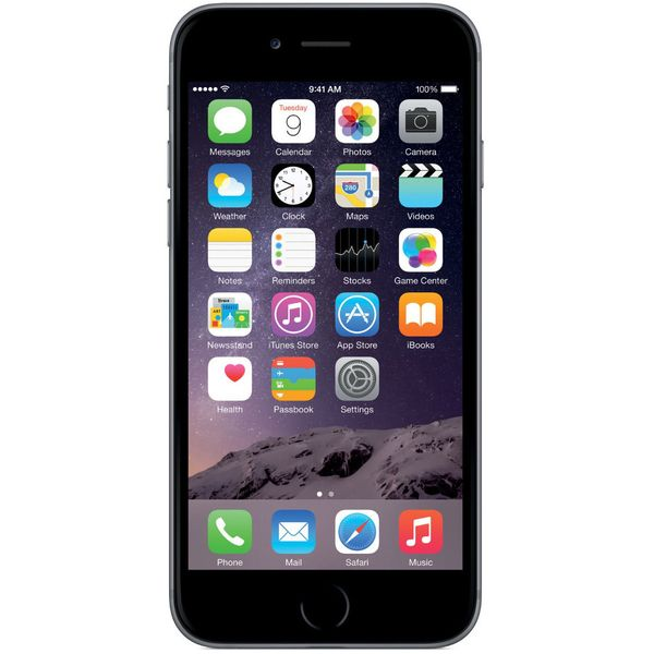 Apple iPhone 6 - 128GB - Space Gray – Bild 1