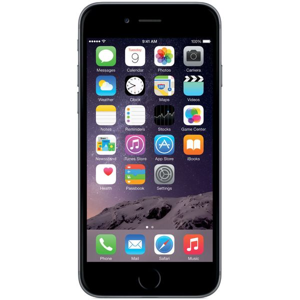 Apple iPhone 6 Plus - 128GB - Space Gray – Bild 1