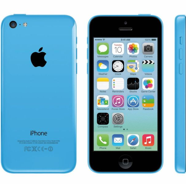 Apple iPhone 5C - 8GB - Blue – Bild 6