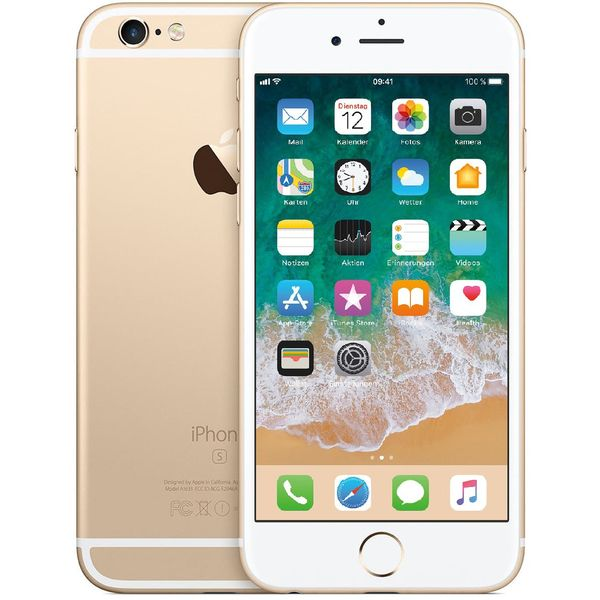 Apple iPhone 6s - 128GB - Gold – Bild 4