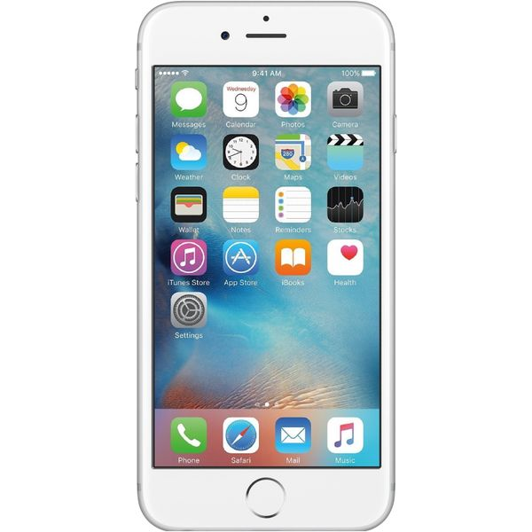 Apple iPhone 6s - 128GB - Silver – Bild 1