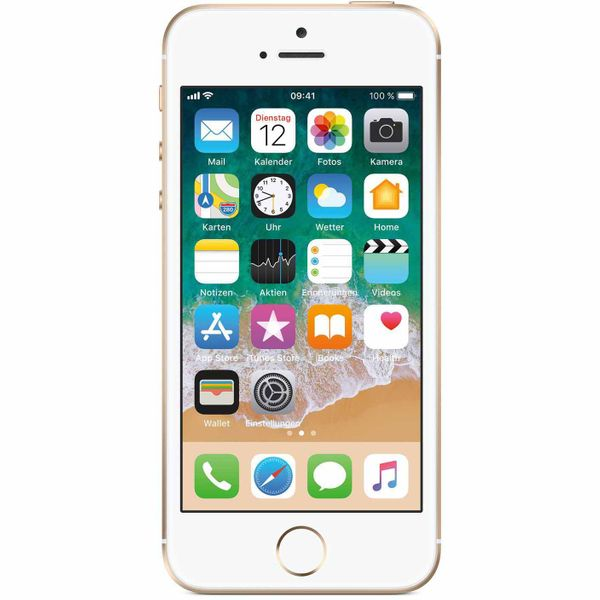Apple iPhone SE - 64GB - Gold – Bild 1