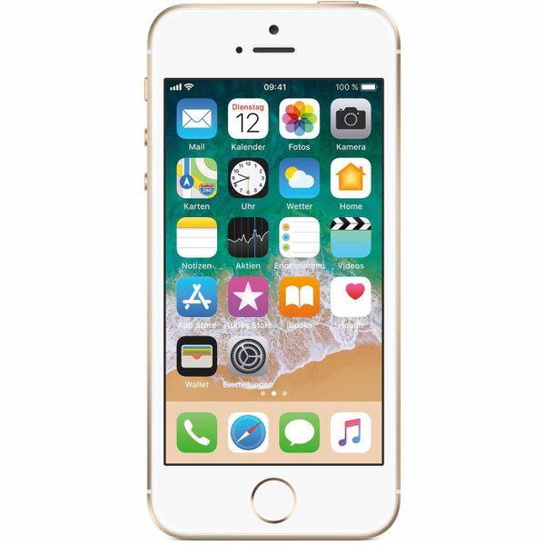 Apple iPhone SE - 64GB - Gold – Bild 1