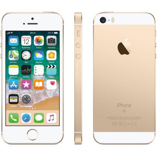 Apple iPhone SE - 64GB - Gold – Bild 6