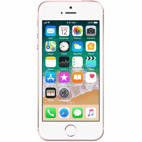 Apple iPhone SE - 64GB - Roségold – Bild 1