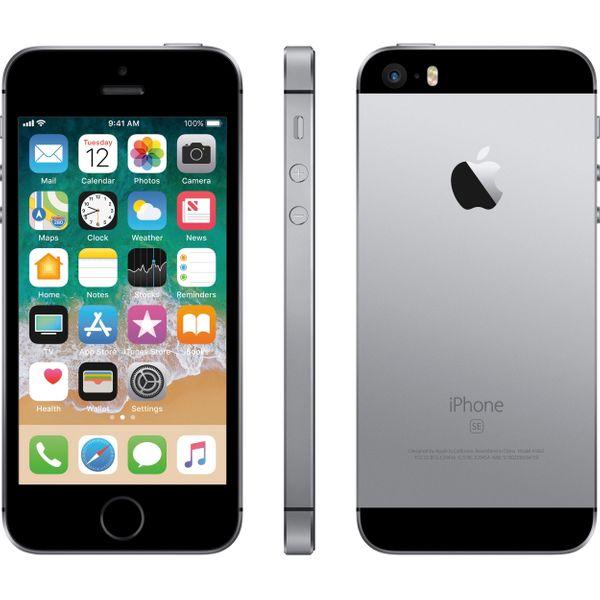 Apple iPhone SE - 16GB - Space Gray – Bild 6