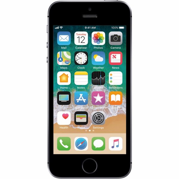 Apple iPhone SE - 64GB - Space Gray