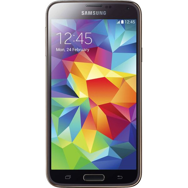 Samsung Galaxy S5 G900F - 16GB - Gold – Bild 1