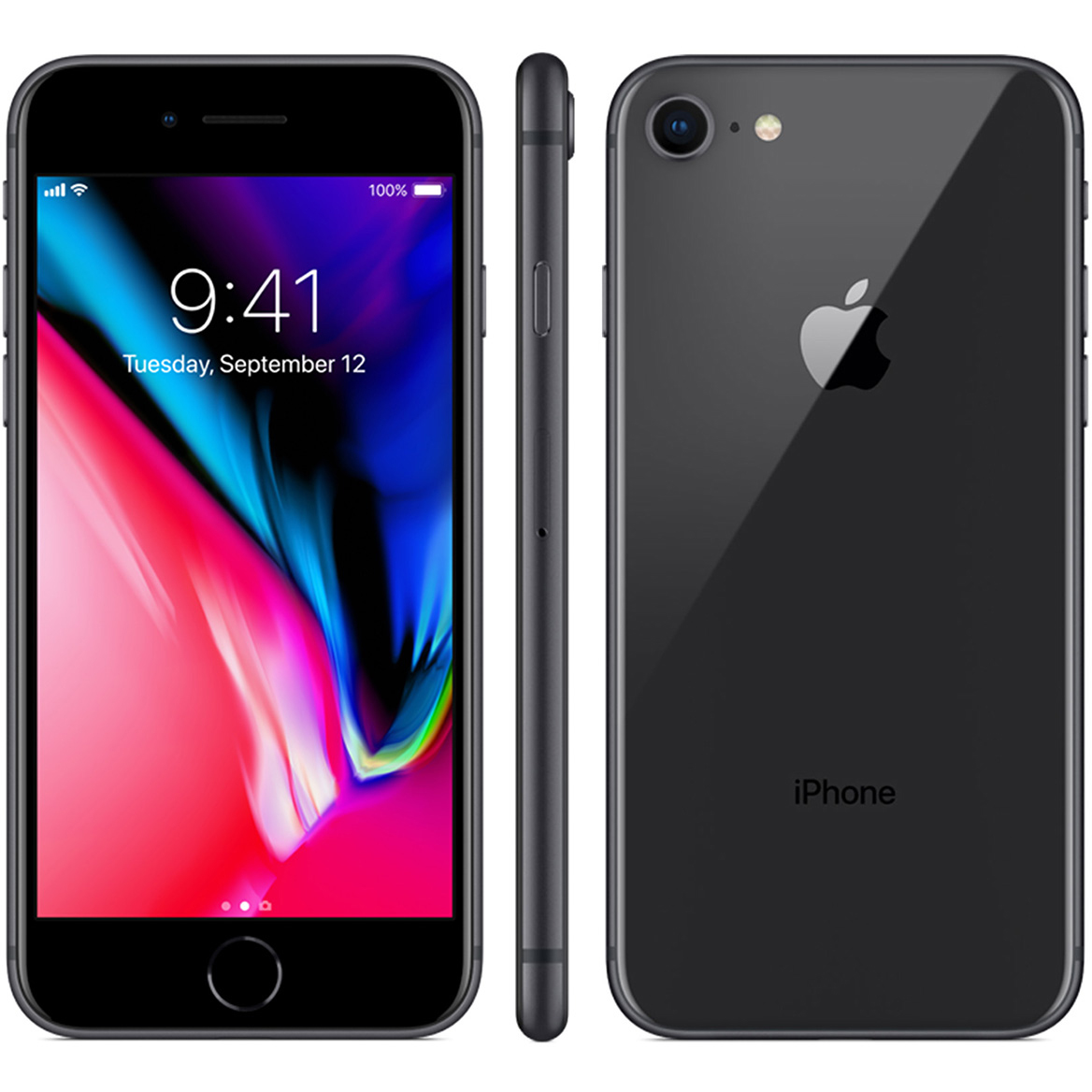 apple iphone 8 256gb space gray handys apple iphone 8. Black Bedroom Furniture Sets. Home Design Ideas