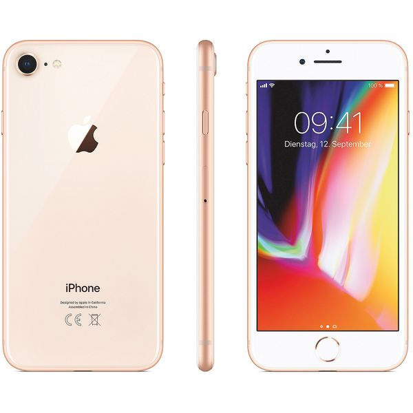Apple iPhone 8 - 256GB - Gold – Bild 5