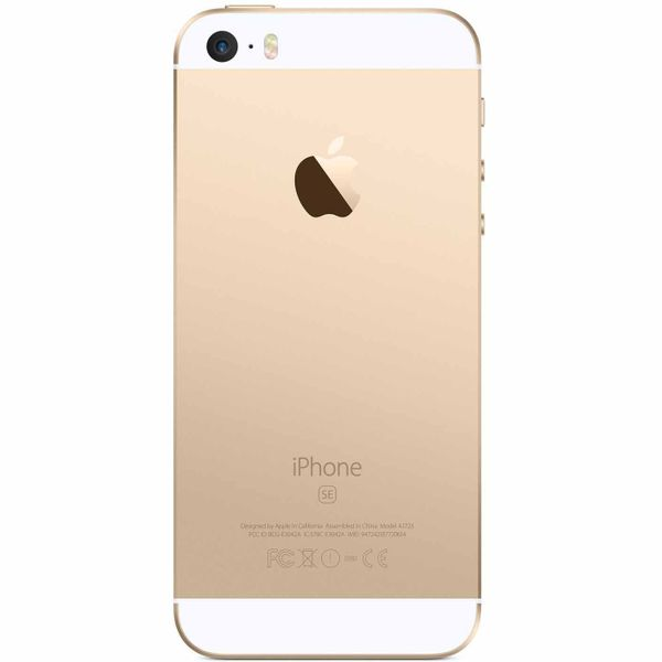 Apple iPhone SE - 128GB - Gold – Bild 3