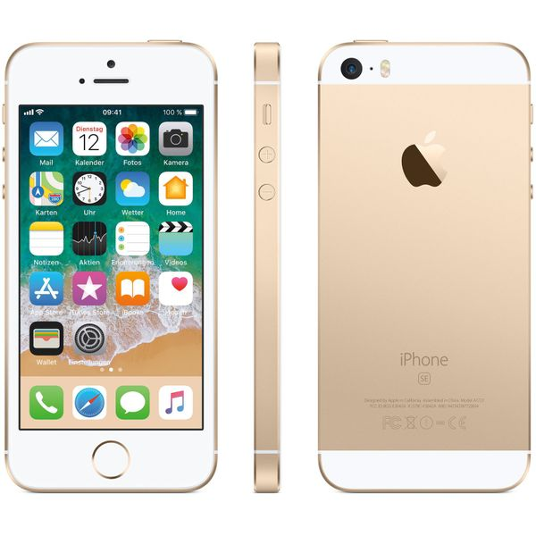 Apple iPhone SE - 128GB - Gold – Bild 6