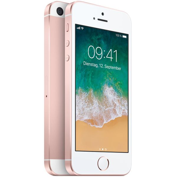 Apple iPhone SE - 32GB - Roségold – Bild 4