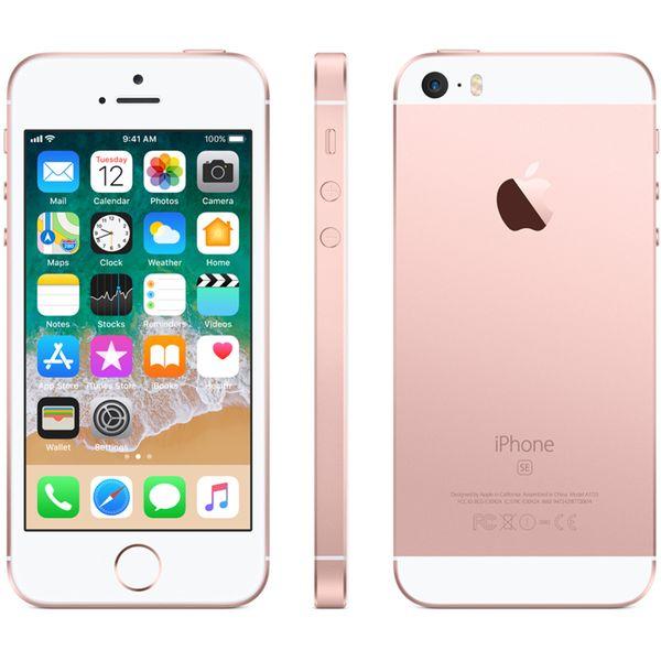 Apple iPhone SE - 128GB - Roségold – Bild 6