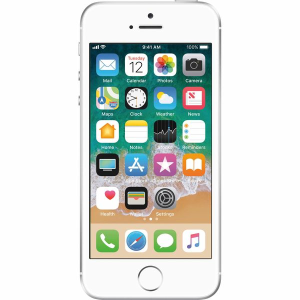 Apple iPhone SE - 128GB - Silver – Bild 1