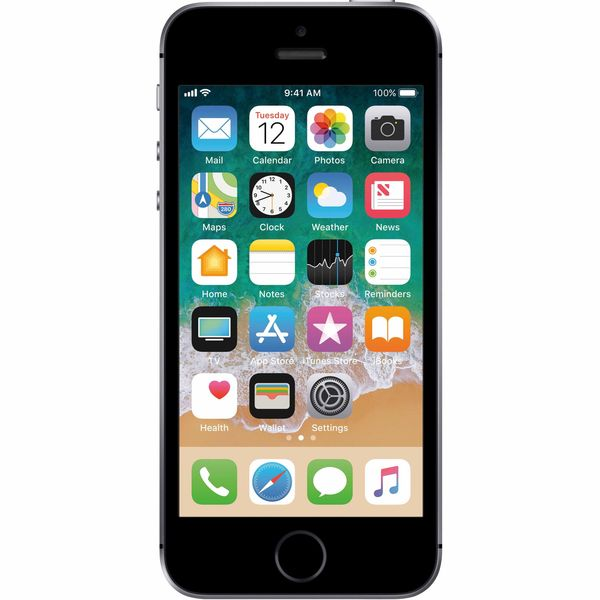 Apple iPhone SE - 128GB - Space Gray – Bild 1