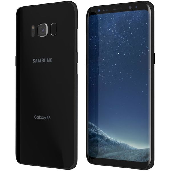 Samsung Galaxy S8 G950F - 64GB - Midnight Black – Bild 4