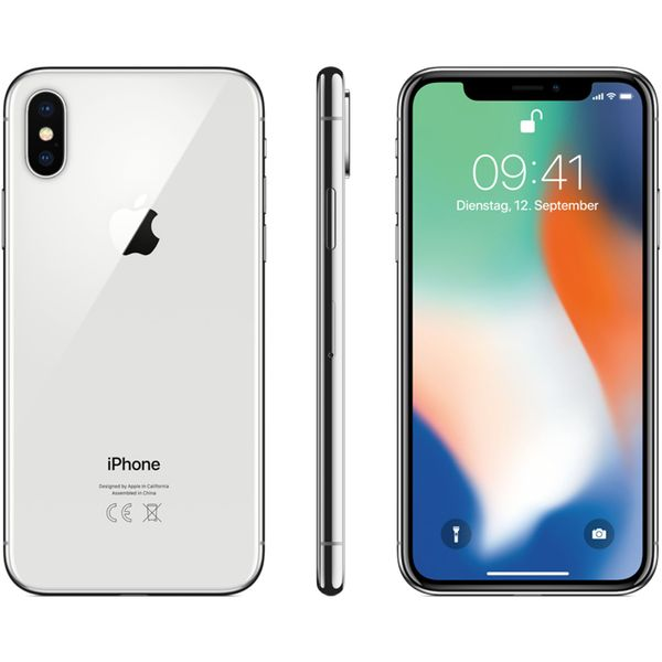 Apple iPhone X - 256GB - Silver – Bild 5