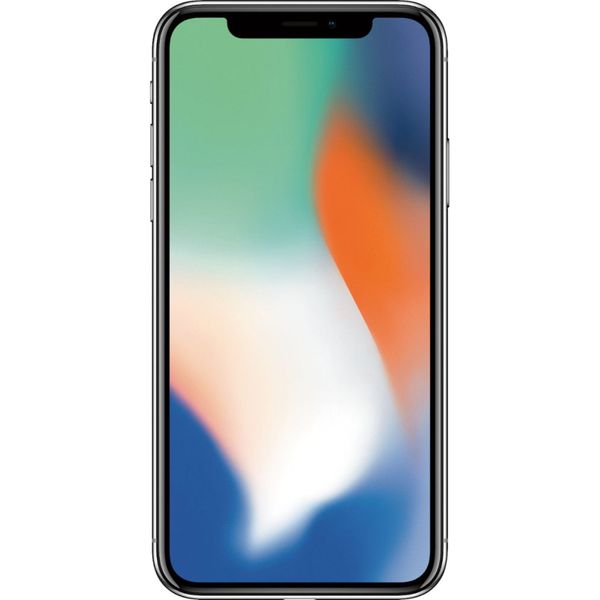 Apple iPhone X - 64GB - Silver – Bild 1