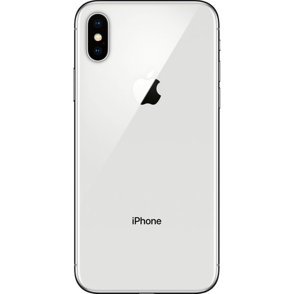 Apple iPhone X - 64GB - Silver – Bild 2