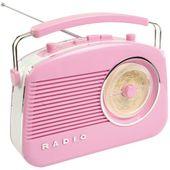 König HAV-TR710PI Retro-Radio Audio...