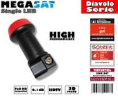 Megasat Diavolo Single LNB 0,1dB Full HD...