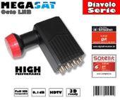 Megasat Diavolo Octo LNB 0,1dB Full HD...