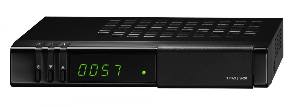 triax s 26 hd hdtv satelliten sat receiver f r die orf. Black Bedroom Furniture Sets. Home Design Ideas