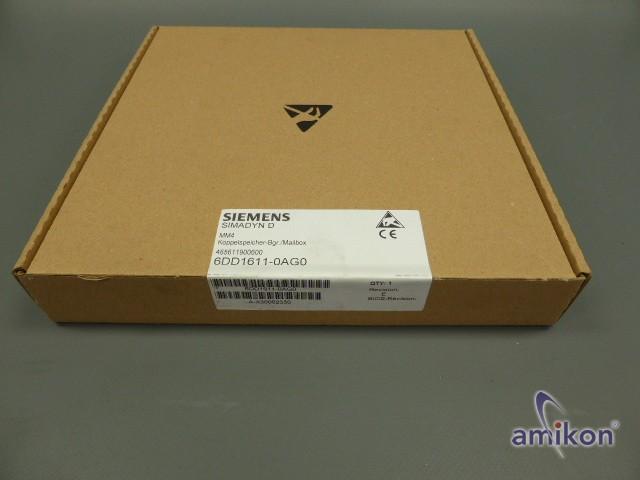 Siemens Simadyn D Koppelspeichermodul 6DD1611-0AG0 neu und versiegelt !