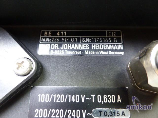 """Heidenhain 12"""" Ersatzmonitor BE 411 id.Nr. 226 917 01  Hover"""