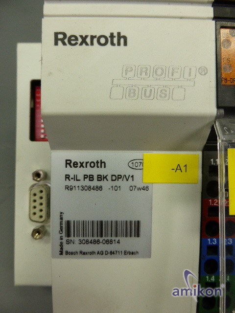 Bosch Rexroth Inline-Buskoppler R-IL PB BK DP/V1 R911308486  Hover
