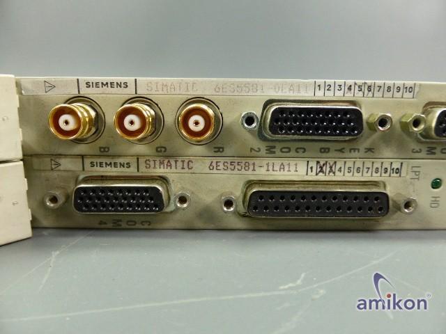 Siemens S5 CP Grundbaugrp. 6ES5581-0EA11 mit Massenspeicherbaugrp. 6ES5581-1LA11  Hover